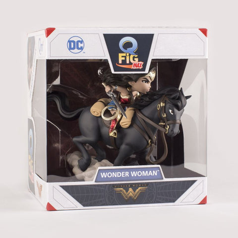 "Wonder Woman Movie - Wonder Woman On Horse SDCC 2017 Exclusive 6"" Q-Fig Figure - Pre-Order"