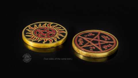 Supernatural - Hunters Challenge Coin