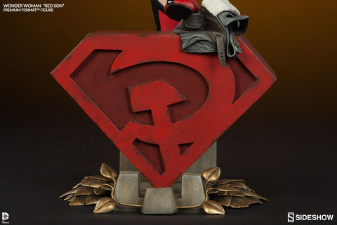 Wonder Woman - Red Son Premium Format 1:4 Scale Statue