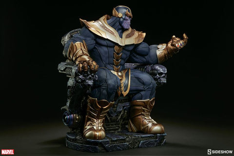 Avengers - Thanos on Throne Maquette Statue - Pre-Order