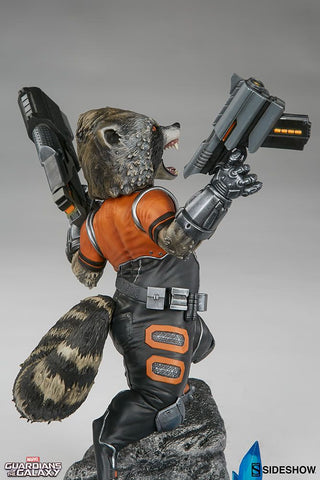 Guardians of the Galaxy - Rocket Raccoon Premium Format 1:4 Scale Statue
