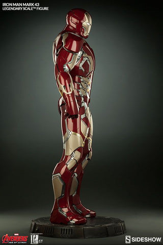 Iron Man - Mark 43 Legendary 1:2 Scale Statue