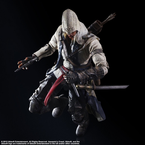 Assassin's Creed 3 - Connor Play Arts Action Figure