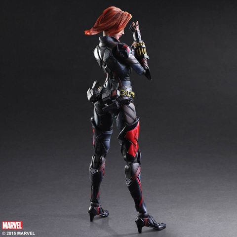 "Avengers - Black Widow Variant Play Arts Kai 10"" Action Figure"