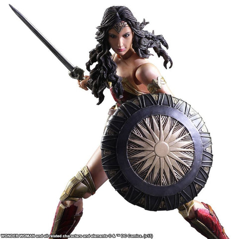 Wonder Woman Movie - Play Arts Action Figure - Pre-Order