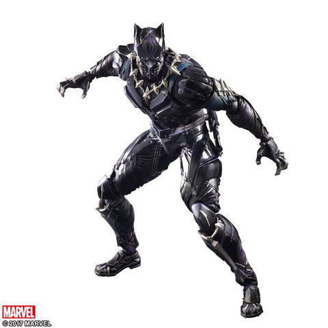 Black Panther - Black Panther Variant Play Arts Action Figure - Pre-Order