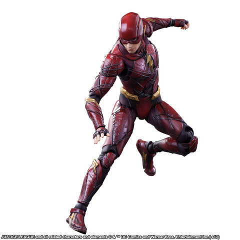 Justice League (2017) - Flash Play Arts Action Figure - Pre-Order