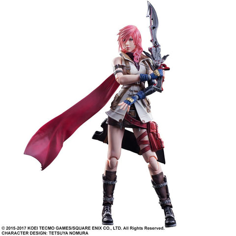 Final Fantasy: Dissidia - Lightning Play Arts Action Figure - Pre-Order