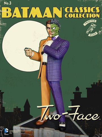 Batman - Two-Face Classic Maquette Statue by Tweeterhead