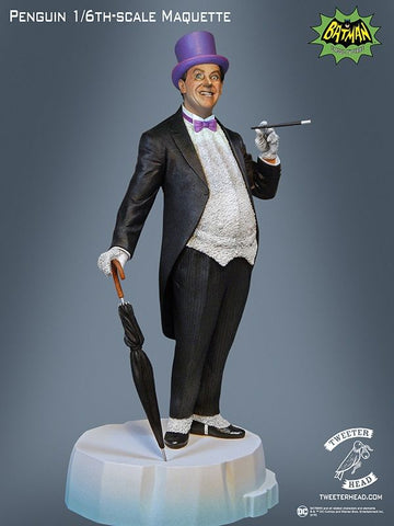 "Batman (1966) - The Penguin 13"" Maquette Statue - Pre-Order"