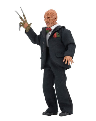 A Nightmare On Elm Street - Tuxedo Freddy 8 Inch Clothed Action Figure - Pre-Order