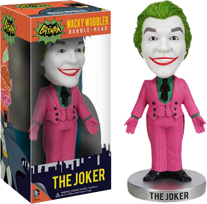 Batman - Joker 1966 Wacky Wobbler