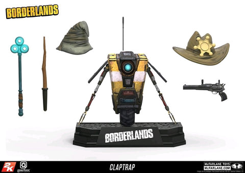 Borderlands - Claptrap Deluxe Action Figure Box Set - Pre-Order