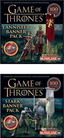 Game of Thrones - Construction Set Banner Pack - Stark