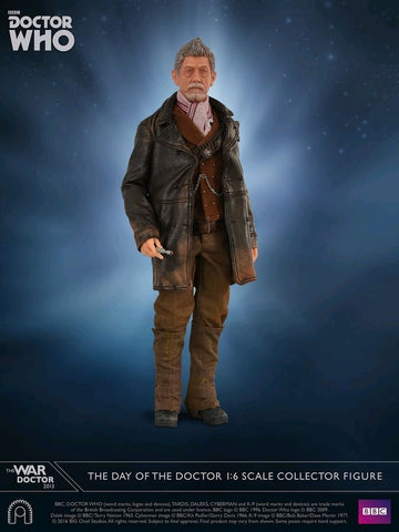 "Doctor Who - War Doctor ""The Day of the Doctor"" 12"" 1:6 Scale Action Figure - Pre-Order"