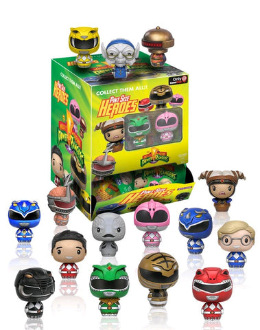 Power Rangers - Hot Topic Exclusive Pint Size Heroes Mystery Mini Blind Bags Case of 24 Figures
