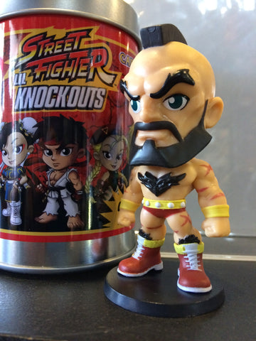 Street Fighter - Lil' Knock-Outs - Loose Mystery Mini Figure: Zangief