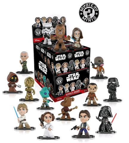 Star Wars - Mystery Mini Blind Box: Hot Topic Exclusive Case Of 12 Figures - Pre-Order