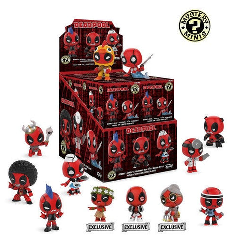Deadpool - Playtime Mystery Mini Figure Blind Box: Target US Exclusive