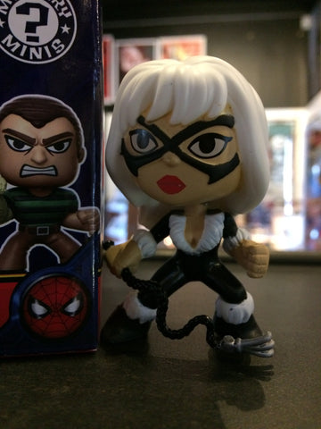 Spider-Man - Loose Mystery Mini Figure: Black Cat (1:12)