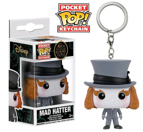 Alice Through the Looking Glass - Mad Hatter Pocket Pop! Keychain