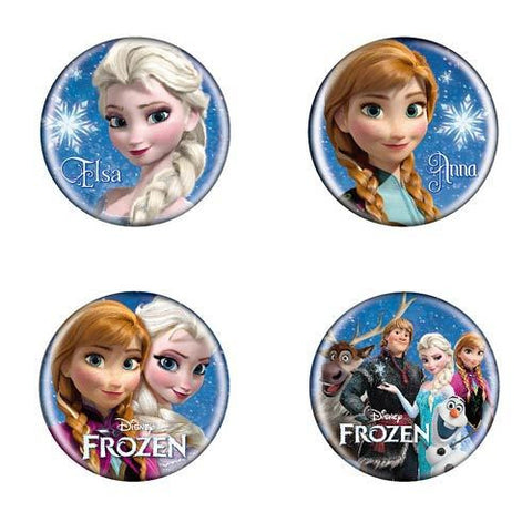 Disney - Frozen Button Pin Set