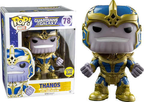 Guardians of the Galaxy - Thanos Glow In The Dark 6 Inch Super Sized Pop! Vinyl Figure