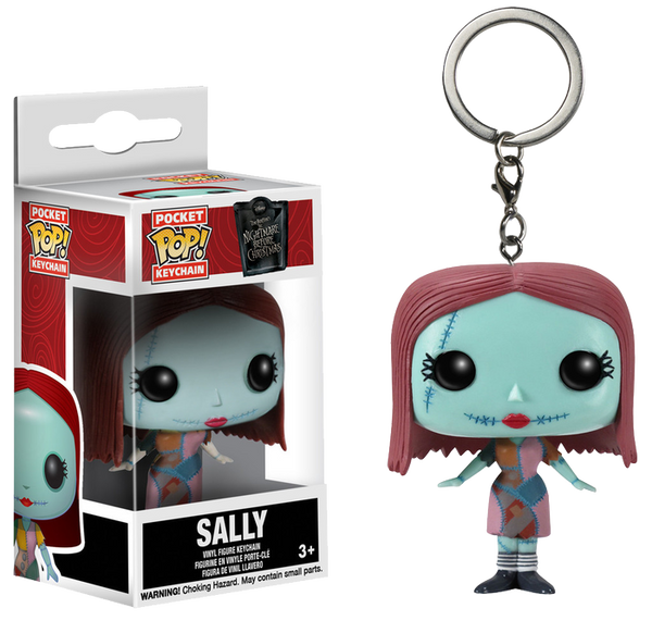 The Nightmare Before Christmas - Sally Pocket Pocket Pocket Pop! Keychain