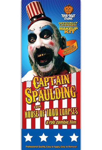 House of 1,000 Corpses - Captain Spaulding Makeup Kit - Pre-Order