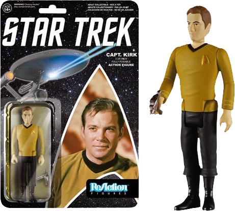 Star Trek - Captain Kirk ReAction Action Figure