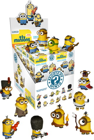 Minions - Mystery Mini Blind Box Case of 12 Figures