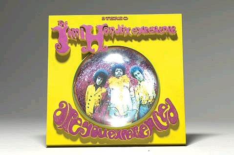 Jimi Hendrix - 3D Album Cover Are You Experienced