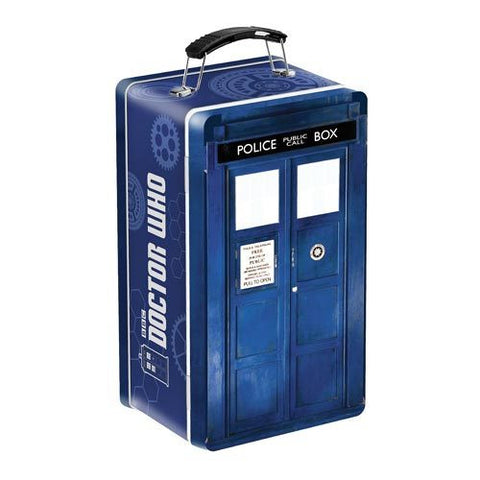 Doctor Who - TARDIS Shaped Tin Tote