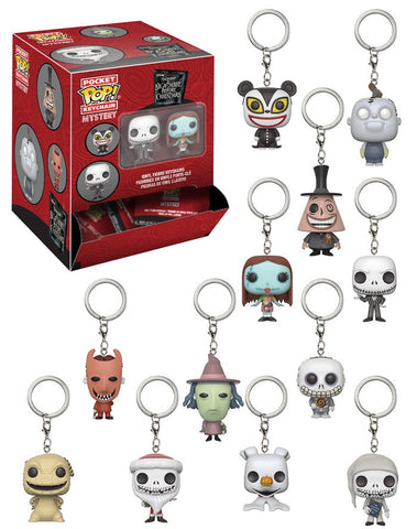 The Nightmare Before Christmas - Pocket Pop! Keychain Blind Bags - Pre-Order