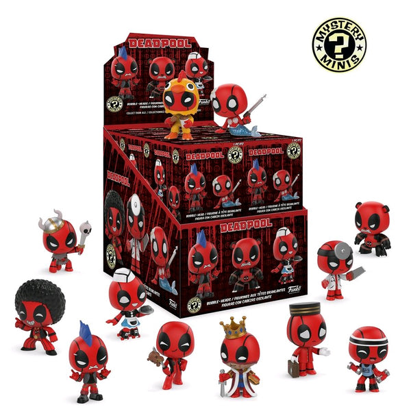 Deadpool - Playtime Mystery Mini Blind Box Case Of 12 Figures - Pre-Order