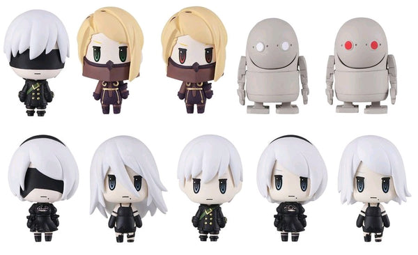 Nier: Automata - Trading Arts Mini Figures Blind Box Case of 10 Figures - Pre-Order