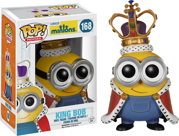 Minions - Minion King Bob Pop! Vinyl Figure