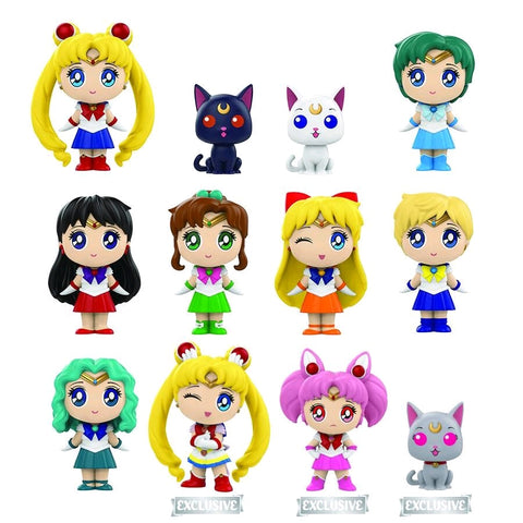 Sailor Moon - Hot Topic Exclusive Mystery Mini Blind Boxes Case of 12 Figures - Pre-Order