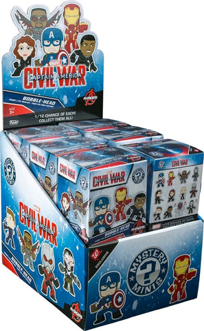 Captain America: Civil War - Walgreens Exclusive Mystery Mini Blind Box Case of 12 Figures