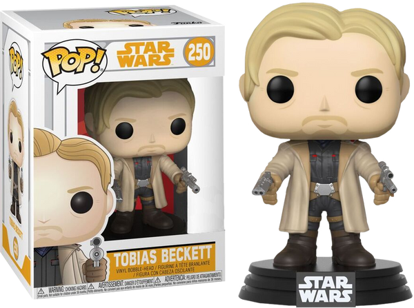 Star Wars: Solo - Tobias Beckett with Duel Blasters Pop! Vinyl Figure - Pre-Order