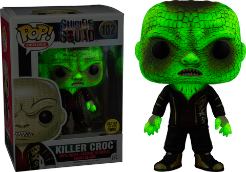 Suicide Squad - Killer Croc Glow in the Dark Pop! Vinyl Figure
