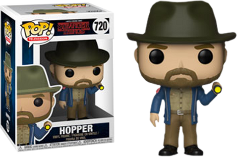 Stranger Things - Hopper with Flashlight Pop! Vinyl Figure - Pre-Order