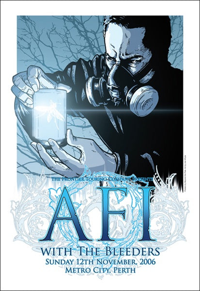 AFI & The Bleeders - 2006, Perth Limited Edition Print