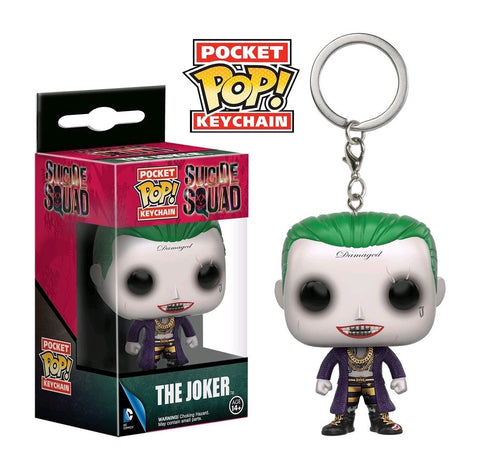 Suicide Squad - Joker Pocket Pop! Vinyl Keychain