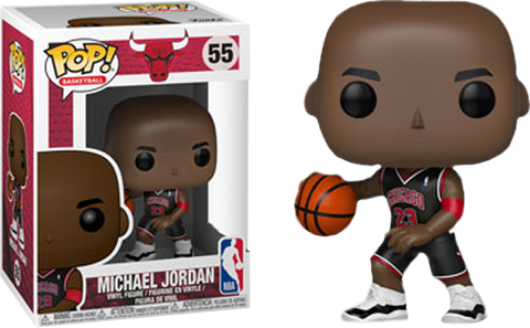 NBA Basketball - Michael Jordan Chicago Bulls Black Uniform Pop! Vinyl Figure - Pre-Order