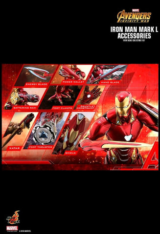 Avengers: Infinity War - Iron Man Mark L Action Figure Accessories - Pre-Order