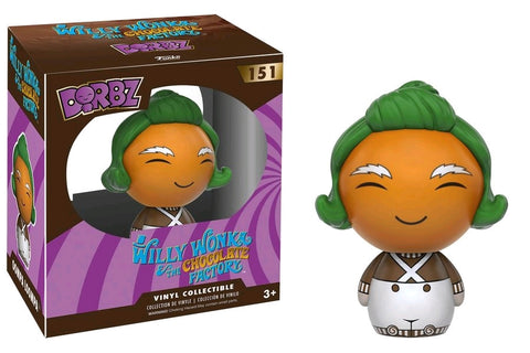 Willy Wonka and the Chocolate Factory - Oompa Loompa Dorbz VInyl Figure