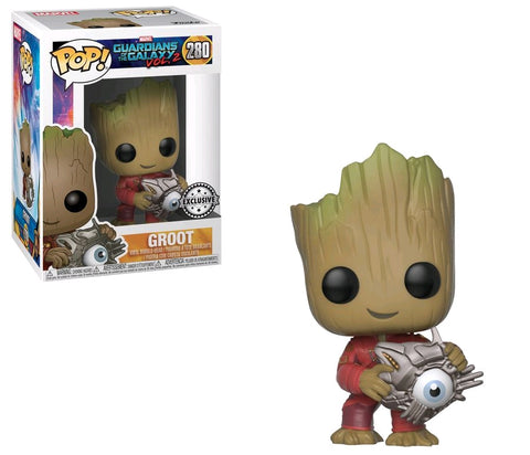 Guardians of the Galaxy: Vol. 2 - Groot with Cyber Eye Pop! Vinyl Figure - Pre-Order