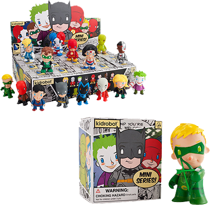 DC Comics Universe - 3 Inch Mystery Mini Figures by Kidrobot