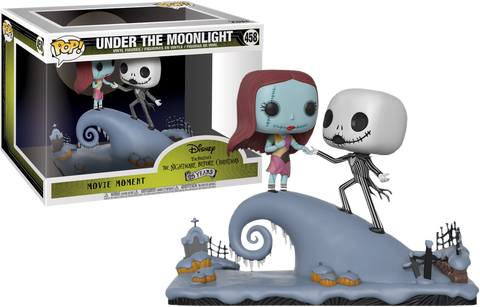 The Nightmare Before Christmas - Jack and Sally Under The Moonlight Movie Moment Pop! Vinyl Figure - Pre-Order